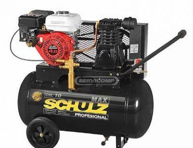 Compresor autonomo a gasolina