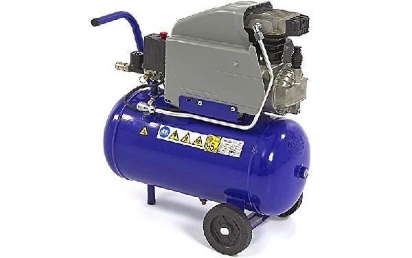 Compresores de aire recíproco desplazamiento positivo color azul