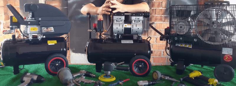 Tipos de compresores, cual usar los compresores