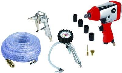 einhell 4020565 set de aire comprimido presión de trabajo 6.3 bar