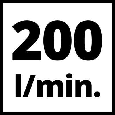 einhell stehende bauweise, ölfrei compresor vertical 200L/M