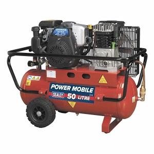 Sealey-SA5040-Compresor-de-cinturon-con-motor-de-gasolina-de-4-hp