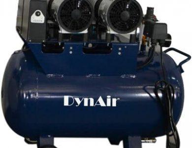 Compresor-de-aire-silencioso-1100-W-sin-aceite-50-l-230-L-min-odontologico