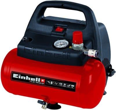 Einhell-TH-AC-190-6-OF-Compresor-de-aire-8-bar-deposito 6L