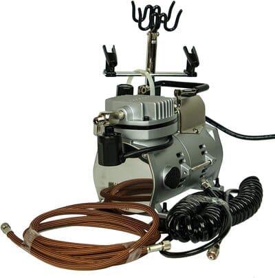 Fine-Art-9207-Juego-de-aerografo-incluye-compresor-doble-salida