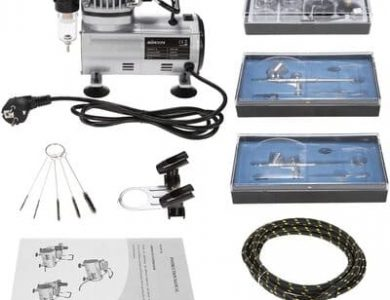 KKmoon-3-Kit-Aerografo-Compresor-Profecional-para-Coloracion-Ceramica-y-Modelo-Tatuaje-Temporal-Manicura