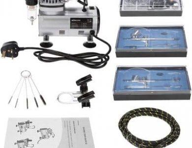 MIEMIE-Juegos-De-Aerografo-con-Compresor-De-Aerografo-Y-Kit-De-Aerografo
