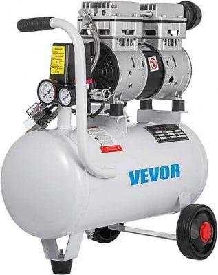 vevor compresor de Aire sin aceite silencioso 5,5 galones