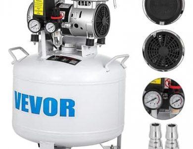 VEVOR-Compresor-de-Aire-sin-Aceite-Silencioso-de-8.8-Galones