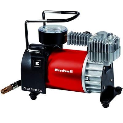 Einhell Compresor de aire para coche rojo