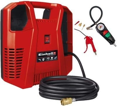 Compresor-Einhell-TH-AC-190-Kit-1.100W-potencia-de-extraccion-190-l-min