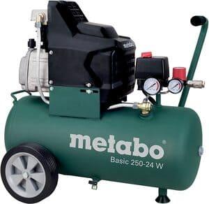 Metabo-Compresor-Basic-incluye-LPZ-4-juego-de-accesorios-1500-vatios-24-litros-8-bar-capacidad-de-succion-220-litros