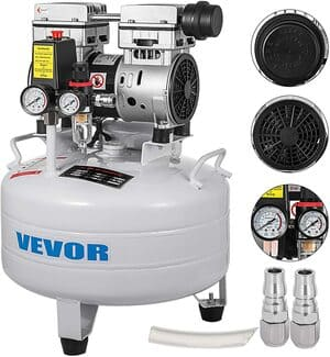 VEVOR-Compresor-de-Aire-66-galones-30-L-Compresor-Silencioso-con-Tanque-850-W-165-L