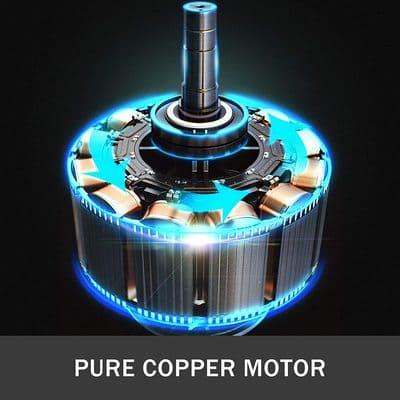 VEVOR-Compresor-de-Aire-sin-Aceite-Silencioso-motor-de-cobre
