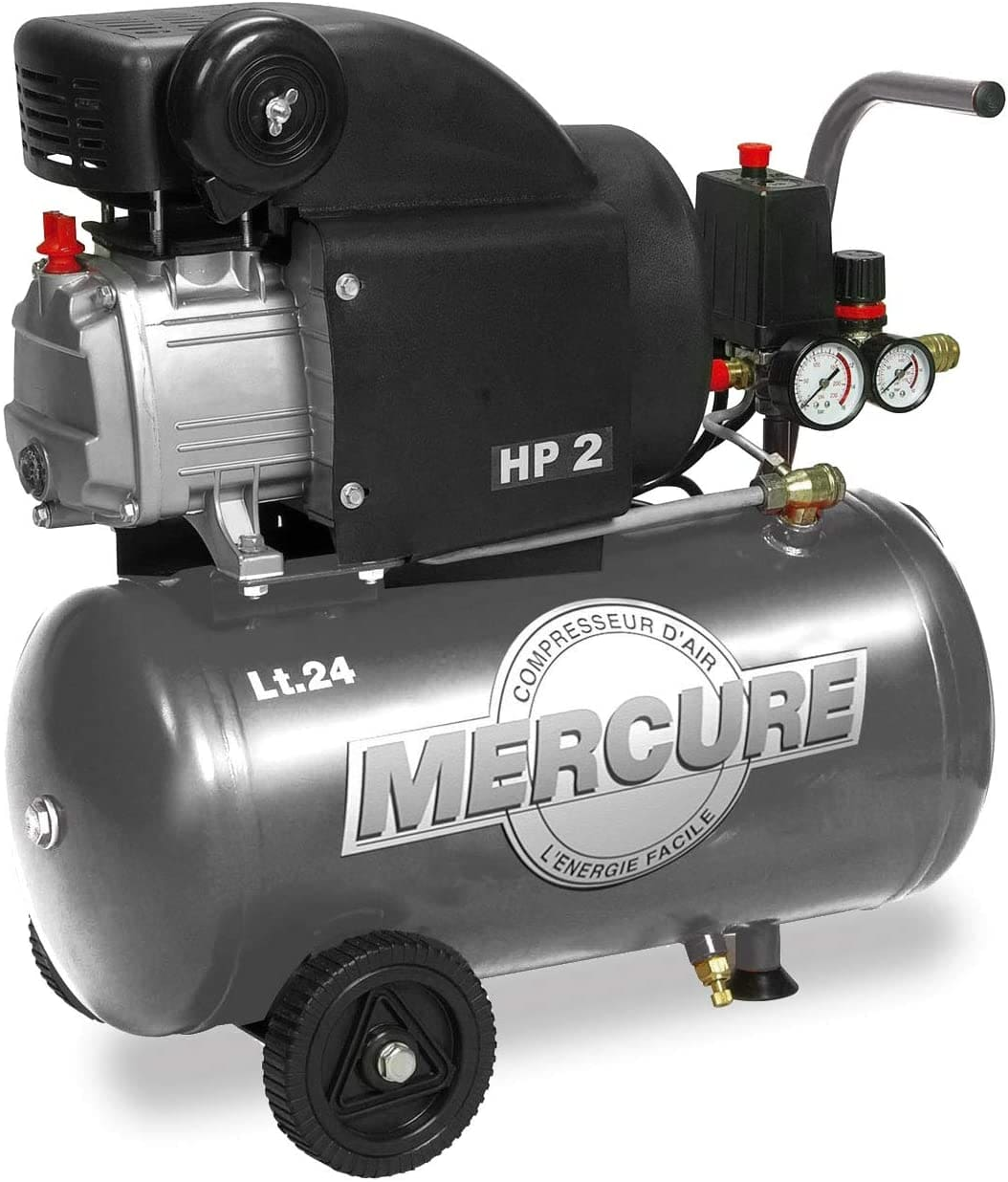 Mercure-425063-Compresor-de-Aire-1500-W-230-V-Gris