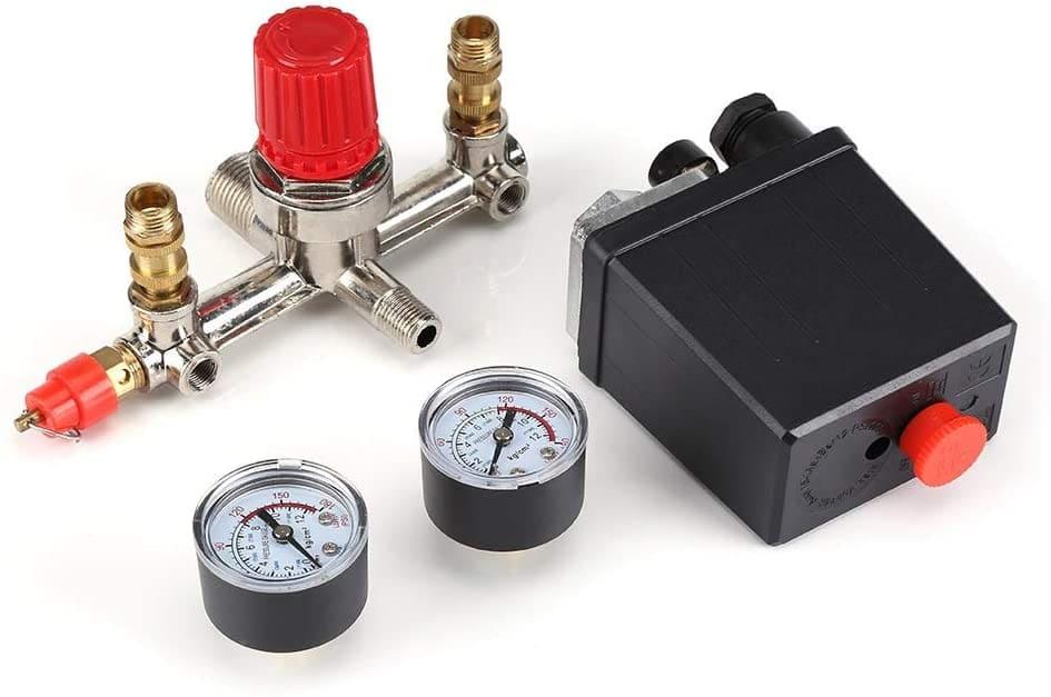 Regulador-Compresor-Aire-Conjunto-De-Valvula