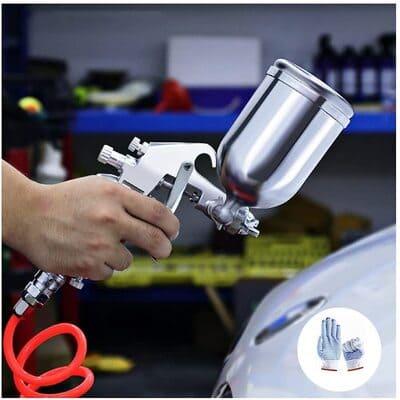 pistola de compresor de aire de pintura para coche