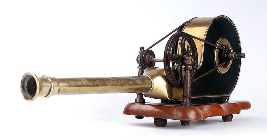 Cilindro soplador antiguo