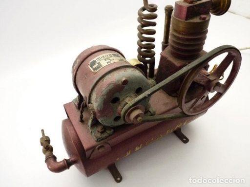 compresor antiguo de aire
