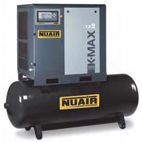 Compresor de aire de tornillo Silencioso con secheur integrado 500 litros