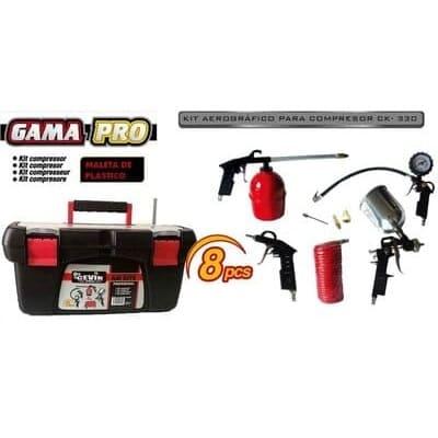 compresor accesorios, cevik cakit8pro - kit para compresor de aire