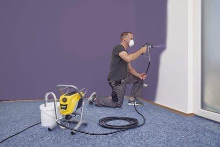 pintar casa con compresor, compresor para pintar paredes, venta de compresor para pintar