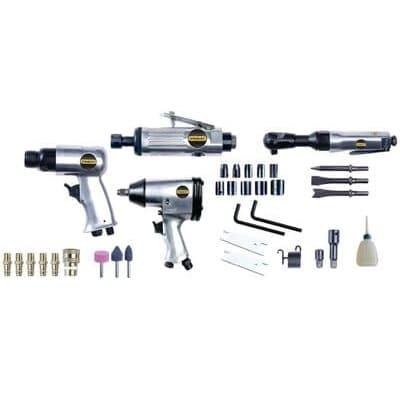 set accesorios compresor aire, stanley 8221074stn - accesorio para compresores de aire