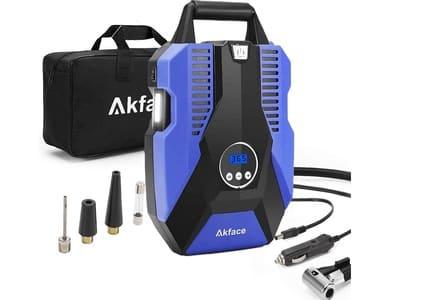 akface compresor de aire portatil para coche