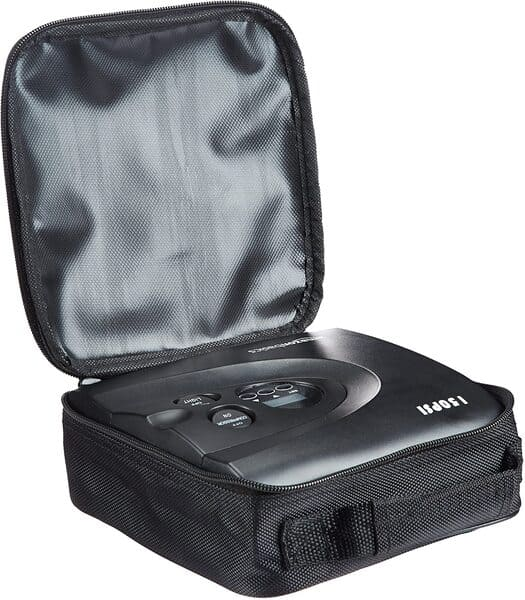 compresor de aire portatil amazon basics 150 psi bolso