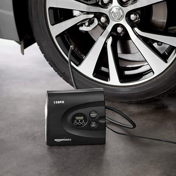 compresor de aire portatil amazon basics 150 psi para coche
